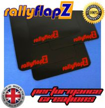 SWIFT SPORT 4TH GEN ZC33S BLACK MUDFLAPS (rallyflapZ Logo Red)